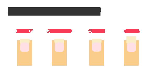 爪の切り方